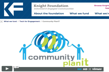 Knight Foundation - Tech for Engagement Grant for CPI