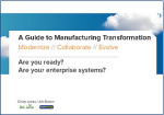 The Experts' Guide to Manufacturing Transformation