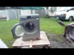 Washing machine destruction