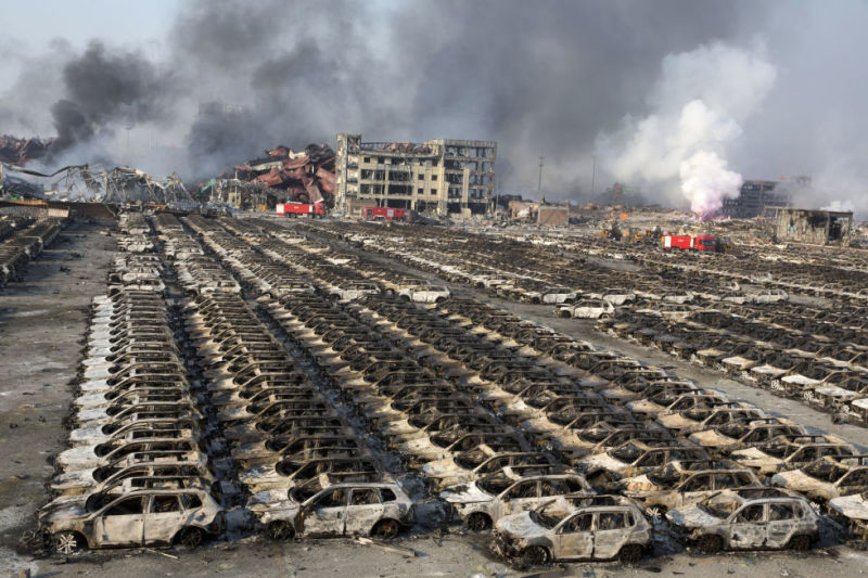 Tianjin Explosion in China - Engineering Failures & Disasters ...