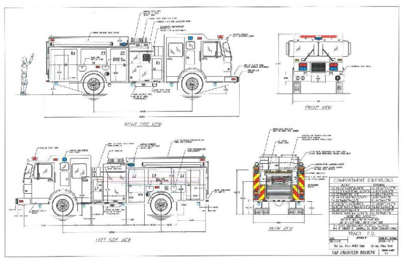 Type 1 Fire Truck Civil Environmental Engineering Other