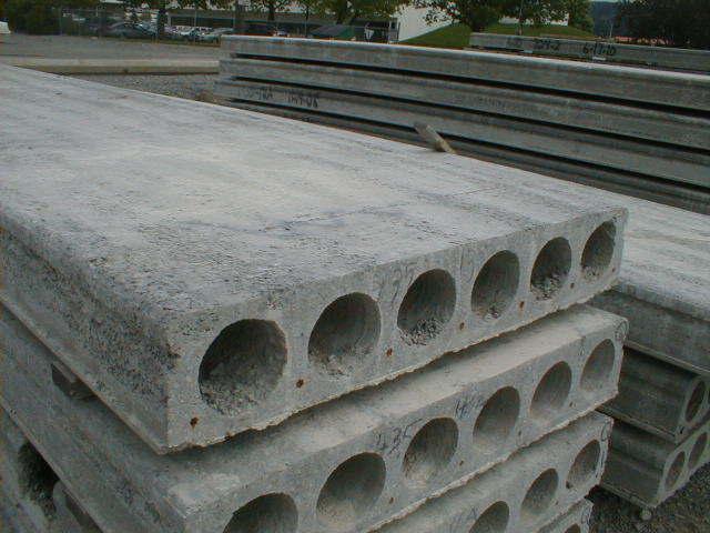 Precast Concrete Planks : Pipe support requirements to precast concrete tees