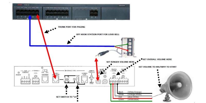 Bogen Intercom Wiring Diagram : Bogen uti night ringer avaya ip office tek tips