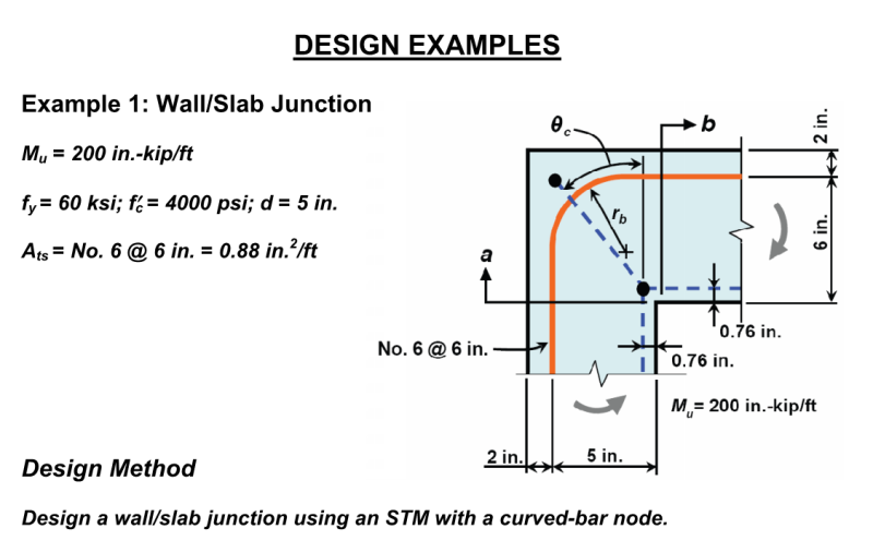 Elegant Retaining Wall Flexural From Stem Into Footing Structural  Engineering Other Technical Topics Engtips With Reinforced Concrete Wall  Design Example.
