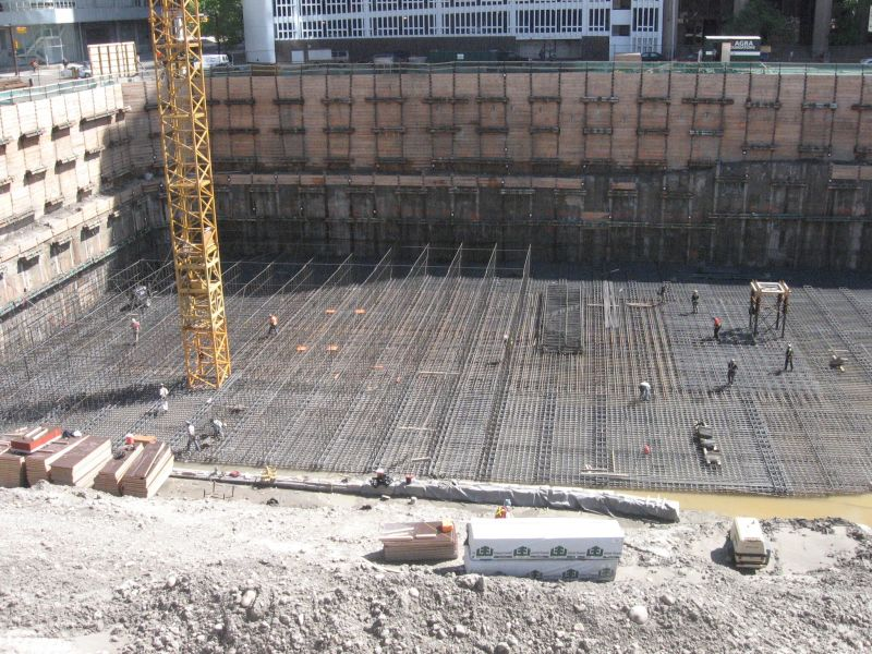 Horizontal cold joint footings structural engineering for Pouring concrete in the cold