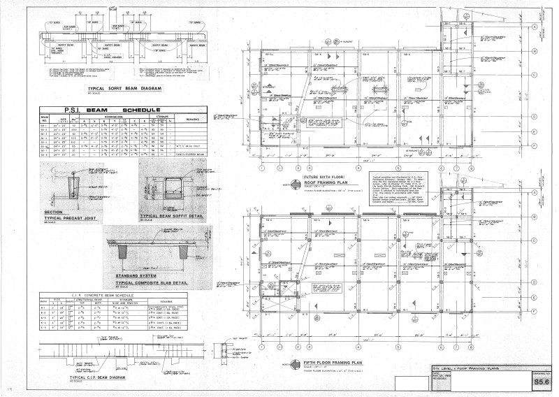 I Am Analyzing A Building That Was Designed In 1983. A Scan Or Link For  Allowable Superimposed Service Load Span Tables Would Be Appreciated.