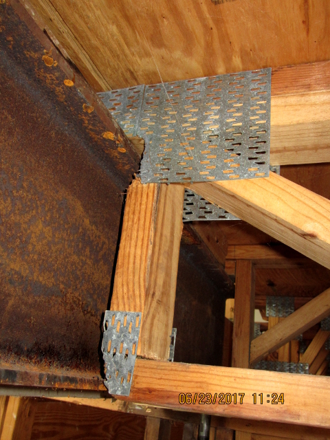 Mangled Floor Trusses How To Repair Truss Engineering