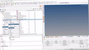 HyperWorks part library updates for assemblies, configurations and model variant management. (Image courtesy of Altair.)