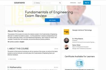 fe exam prep  civil  mechanical engineering engineeringcom