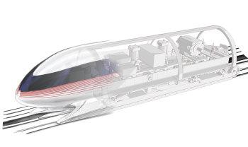 MIT's Hyperloop pod design. (Image courtesy of MIT Hyperloop Team.)