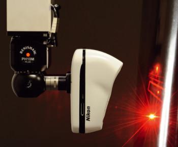 Nikon's InSight L100 CMM laser scanner. (Image courtesy of Nikon.)