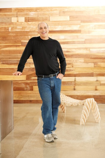 Autodesk CEO Carl Bass in the Gallery at the company's San Francisco office.