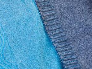 Cosyflex 3D-printed textile in two colors. (Image courtesy of Tamicare.)