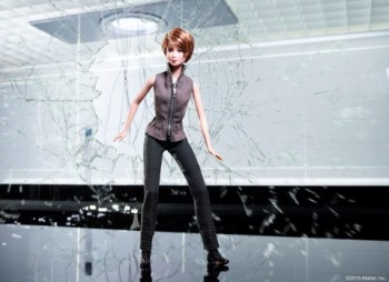 Divergent Tris Barbie doll. Image courtesy of Mattel and Business Wire.