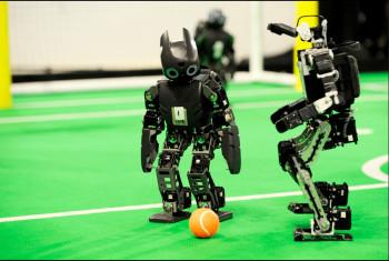 Photo courtesy of RoboCup (Flickr.com/photos/Robocup2013).