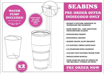 Seabin - Cleaning the Oceans One Marina at a Time ...