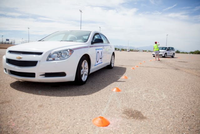 According to Daniel Work, assistant professor of civil environmental engineering at the University of Illinois, The use of autonomous vehicles to regulate traffic flow is the next innovation in the rapidly evolving science of traffic monitoring and control. (Image courtesy of John de Dios.)