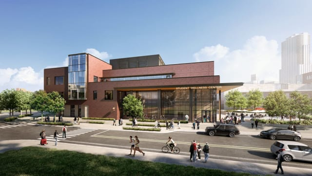 University of Colorado Denver Wellness Center. (Image courtesy of SmithGroupJJR.)
