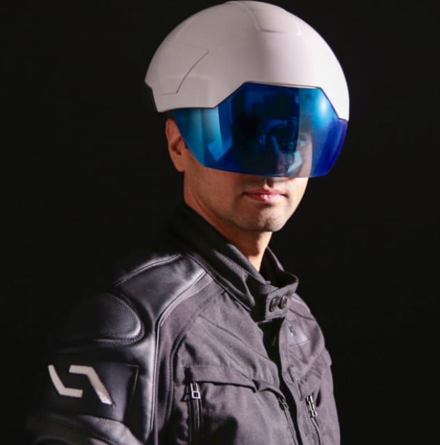 The DAQRI Smart Helmet. (Image courtesy of DAQRI.)