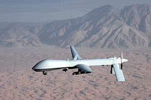 An MQ-1 Predator UAV used by the U.S. Air Force. (Image courtesy of U.S. Air Force/Lt Col Leslie Pratt.)