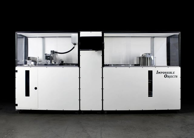 The Model One 3D printer from Impossible Objects, currently sold to pilot customers, is one of the few composite 3D printers on the market capable of using a wide variety of reinforcement materials. (Image courtesy of Impossible Objects.)