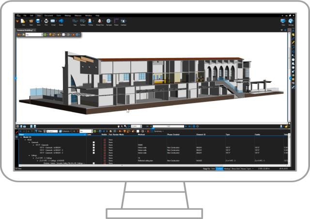 Bluebeam Revu 2017 screenshot. (Image courtesy of Bluebeam.)