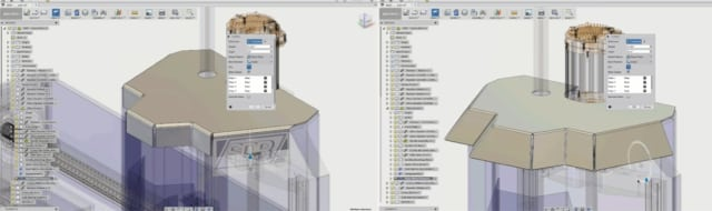 Multiple edges have been selected, extended and bent using a single tool. (Image courtesy of Autodesk.)