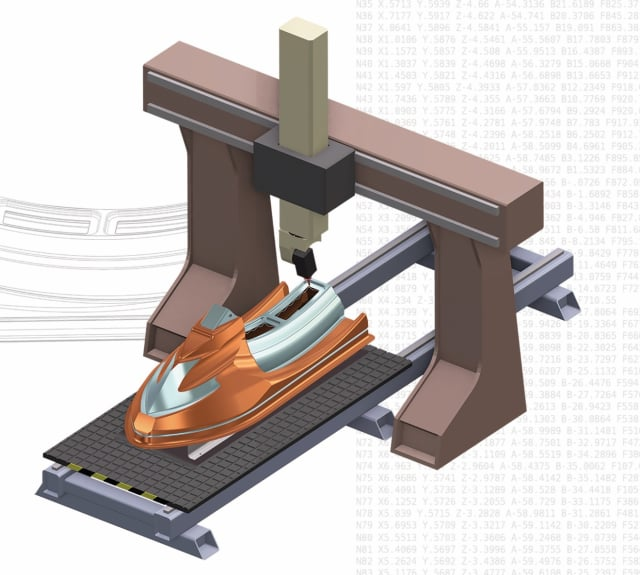 CNC routers are used to machine everything from moldings and exterior/interior decorations to musical instruments and wooden frames. (Image courtesy of CNC Software.)
