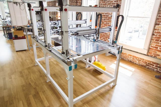 The Cronus 3D printer from Titan Robotics running Autodesk Netfabb. (Image courtesy of Titan Robotics.)