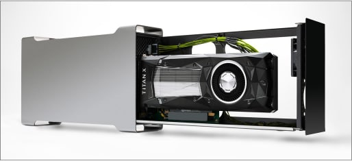 One of NVIDIA's external GPUs. (Image courtesy of NVIDIA.)