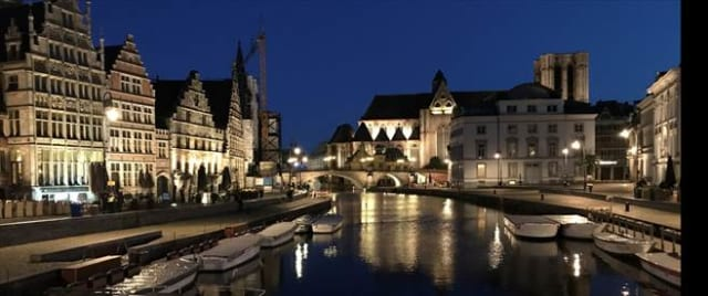 Figure 1. Ghent will be remembered for its beautiful canals, strong beer, delicious chocolates—and the headquarters of Bricsys.