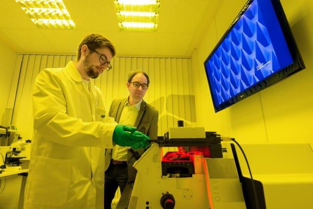 Nanoscribe's facilities. (Image courtesy of Nanoscribe.)