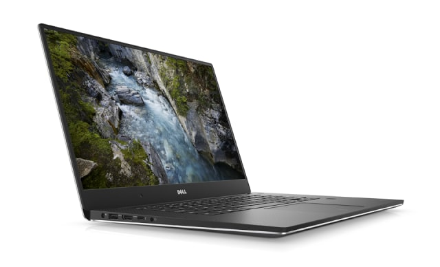 "Dell describes the Anniversary Edition of the Dell Precision 5520 as the ""thinnest, lightest, and smallest mobile workstation available."" It is beingsold in a collector's item case. (Image courtesy of Dell.)"