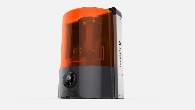 The Ember 3D printer from Autodesk. (Image courtesy of Autodesk.)