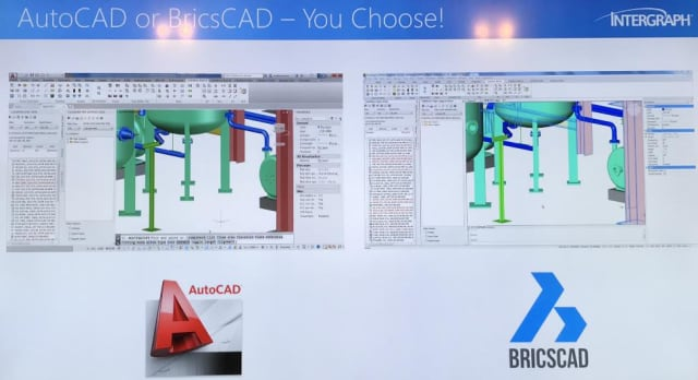 Figure 5. Intergraph offers its CADWorx piping and plant design software for both AutoCAD and Bricscad. Of course, the CADWorx/Bricscad combination is available for a lot less.