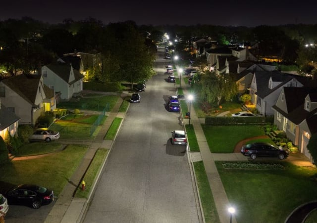 Better Lighting for a Safer Neighborhood (Image courtesy of Cree, Inc.)