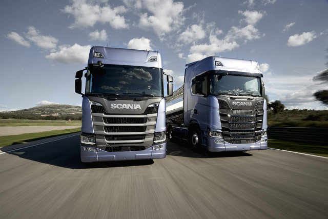 Scania's new truck range – one step towards the vision of VW's Harald Ludanek.
