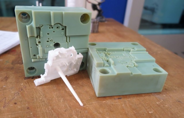 3D-printed injection molds for prototype designs can be much more affordable than those made from machined aluminum.