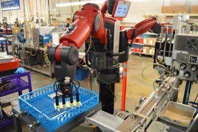 Rethink Robotics' Baxter. (Image courtesy Rethink Robotics.)
