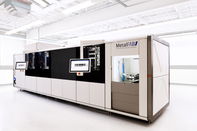 The MetalFAB1 metal 3D printing platform from Additive Industries. (Image courtesy of Additive Industries.)