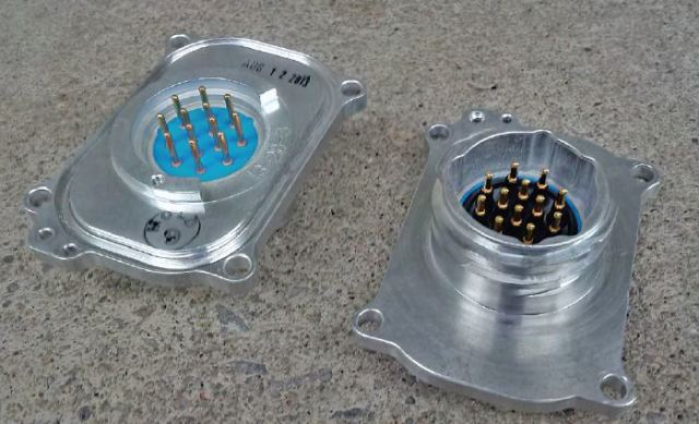 Connector plates for the G3i cable-based recording system. (Image courtesy INOVA Geophysical Equipment.)