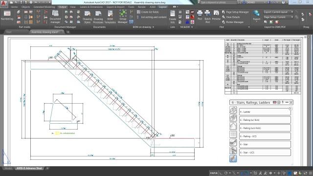 The new drawing tools allow for creation of miscellaneous steel structures. (Image courtesy of Autodesk.)