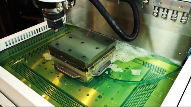 GF Machining Solutions AgieCharmilles Die Sink EDM. (Image courtesy of Machine Tool Systems.)