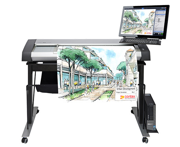 The version of the Scan Station Pro pictured here features the HD Ultra Scanner rather than the IQ Quattro. (Image courtesy of Contex.)