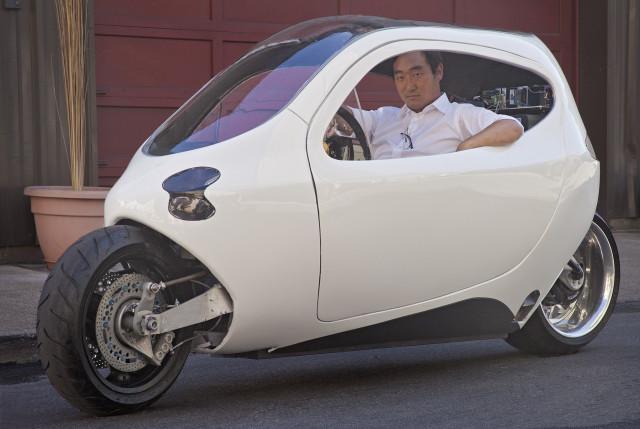 【汽车制造】不落地的摩托车