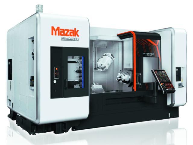 Mazak's INTEGREX i-400ST. (Image courtesy of Mazak.)
