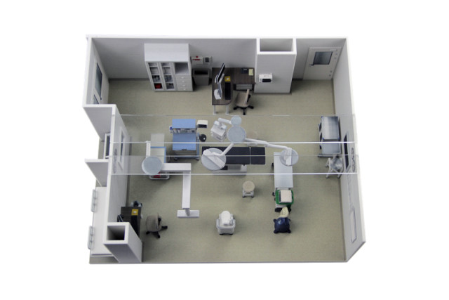A detailed version of an operating room for Intermountain Alta View Hospital. (Image courtesy of WhiteClouds.)