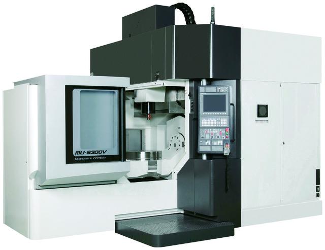 Okuma's MU-6300V 5-axis vertical machining center. (Image courtesy of Okuma.)
