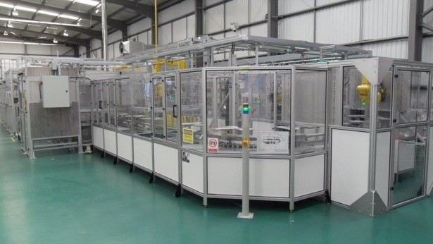 Tamicare's new Cosyflex production line. (Image courtesy of Tamicare.)