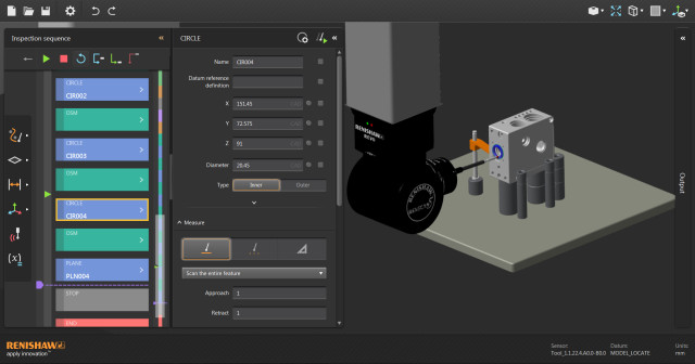 Renishaw's MODUS 2 intelligent CAD data extraction. (Image courtesy of Renishaw.)